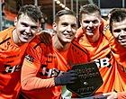 Foto: 🎥 Feest in kleedkamer FC Volendam na binnenslepen periodetitel