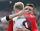 Foto: 'Blessure Jørgensen kan voor PSV wel eens héél goed uit gaan pakken'