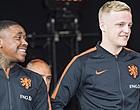 Foto: Van de Beek: 'Wel gekke praat gehad met Bergwijn over Ajax-geruchten'