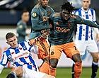 Foto: Traoré spreekt Ajax-ambitie uit: 'Tadic geen echte spits'