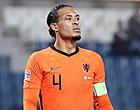 Foto: Oranje krijgt verrassend Virgil van Dijk-nieuws
