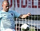 Foto: 🎥 Gestopte Sneijder geniet volop van het leven: '20 kilo aangekomen'
