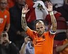 """Foto: Amateurclub begroet Sneijder: """"Verboden voor FC Utrecht"""""""
