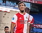 Foto: Ayoub verrast op open dag Feyenoord en noemt Ajax-trainer Ten Hag