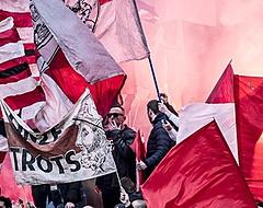 VIDEO: Ajax-fans begeleiden spelersbus met vuurwerk naar ArenA
