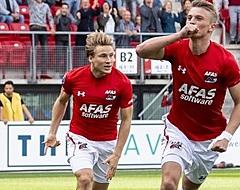 Gudmundsson zorgt ervoor dat AZ de druk nog enigszins op Feyenoord houdt