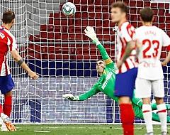 Morata eist hoofdrol op bij winnend Atlético Madrid