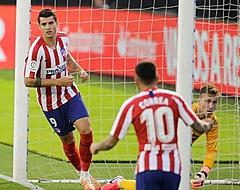 Razendsnelle goal Morata niet voldoende voor Atlético
