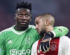 UPDATE: Paniek bij Ajax: Ziyech verlaat voortijdig de training