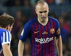 Coutinho bezorgt Iniesta zege bij officieel afscheid
