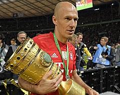 Robben reageert op interesse van geïnteresseerde Van Bommel