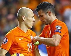 Van Persie denkt niet aan Ronaldo of Messi voor Gouden Bal