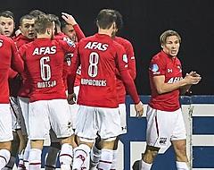 AZ eerste halve finalist in de KNVB Beker na zege op futloos Vitesse