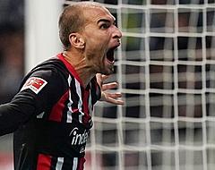Bas Dost komt dit jaar niet meer in actie voor Eintracht