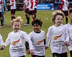 Feyenoord met speels gemak langs ADO in drukbezocht benefietduel