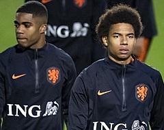 """Stengs en Boadu zoeken elkaar op bij Oranje: """"Mooi dat we hier samen zijn"""""""