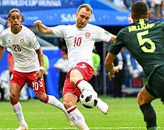 Australië schiet niets op met gelijkspel tegen matig Denemarken
