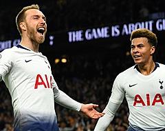 Eriksen schiet Tottenham Hotspur vlak voor tijd naar zege
