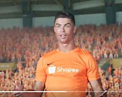Ronaldo gaat viral met verschrikkelijk slechte commercial (🎥)