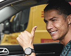 Trainingsbeest Ronaldo oogst lof met vroege training