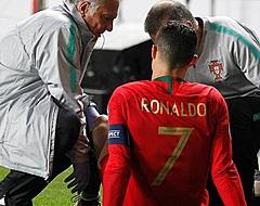 Grote zorgen om Ronaldo, Engeland en Frankrijk winnen ruim