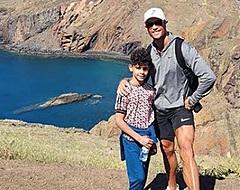 Heftig: Politie start onderzoek naar beelden zoontje Cristiano Ronaldo