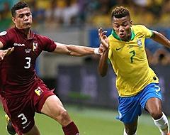Brazilië en David Neres beleven vervelende avond