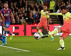 City wint gemakkelijk van Palace: goal David Silva hoogtepunt