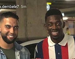 PRACHTIG: Barça-ster Dembélé ontmoet broer Nouri na duel met PSV
