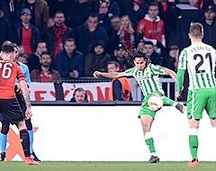 Lainez belangrijk voor Betis: 'Ben de supporters erg dankbaar'