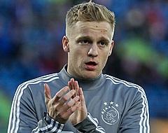 """""""Van de Beek weet ook wel dat hij het bij Ajax heel goed heeft"""""""