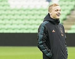Ajax-fans gaan massaal los over Donny van de Beek