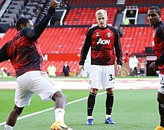 Debuutgoal Van de Beek kan Manchester United niet redden