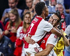 """Tadic: """"Je kunt zien dat Ajax gewoon thuishoort in de Champions League"""""""