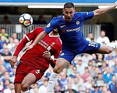 Hazard: 'Ik probeerde tegen Van Dijk op te springen, maar had geen kans'