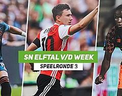<strong>SN Elftal van de Week: Schamel Feyenoord-lichtpunt, één Ajacied</strong>