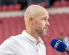 """Ten Hag dubt over transfers: """"Bijvoorbeeld geen winterstop"""""""