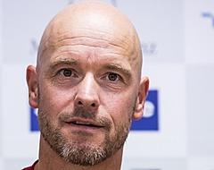 Bizar nieuwtje valt slecht bij Ajax-fans: 'Ten Hag niet goed bij zijn hoofd'