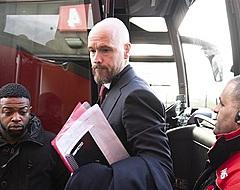 """Ten Hag treurt om late zeperd Ajax: """"Een onacceptabele fout"""""""