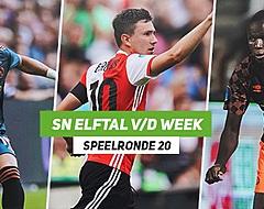 <strong>SN Elftal van de Week: FC Groningen verslaat Ajax, ook Feyenoord sterk</strong>
