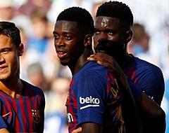 VIDEO: Ousmane Dembélé zet Barcelona fraai op voorsprong