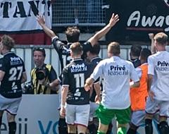 FC Emmen-captain in tranen na megastunt op Kasteel