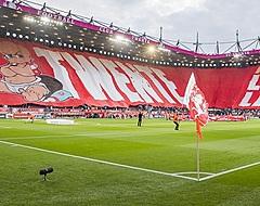 Ajax aan kop, Twente-aanhang waanzinnig loyaal