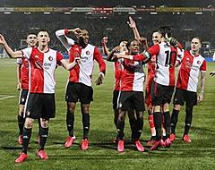 'Feyenoord haalt spits met goed doelpuntengemiddelde'