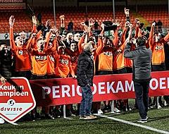 """Volendam wint periodetitel: """"Een feestje moet je altijd vieren"""""""