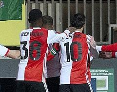 """Advocaat ziet Feyenoord ontsnappen: """"Dit veld is net een glijbaan"""""""