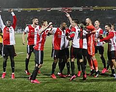 """Geloof bij Feyenoord: """"Die zijn toch een beetje aangeslagen nu"""""""