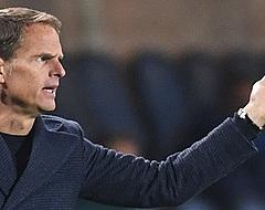 Feyenoord-fans wijzen massaal naar Frank de Boer