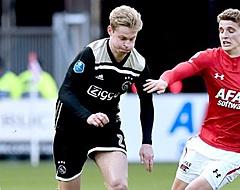 """Frenkie de Jong leest transfernieuws: """"Misschien is het tactiek"""""""