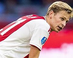De Jong reageert zeer duidelijk op toekomstvraag na Ajax - Standard Luik